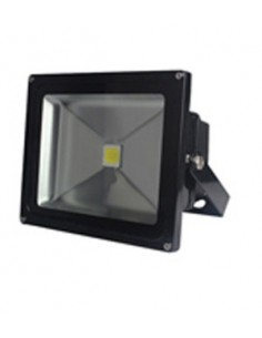 30w LED Floodlight Black