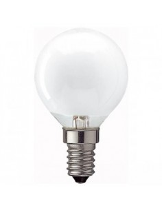25w E14/SES Golfball Lamp Opal