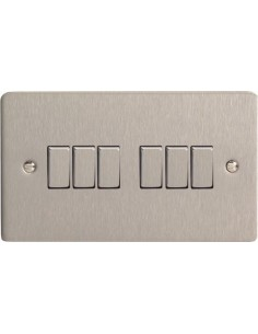 10A 6 Gang 2 Way Switch...