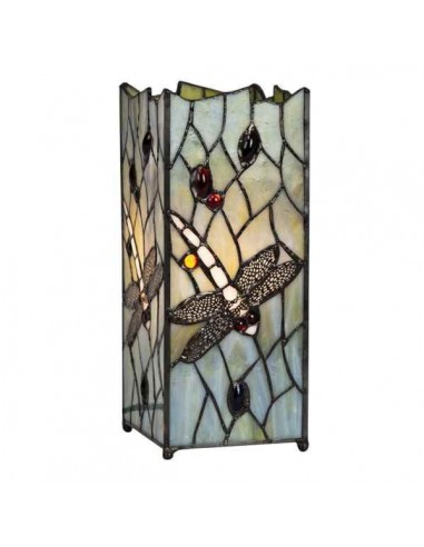 Dragonfly Design Tiffany Square Table...
