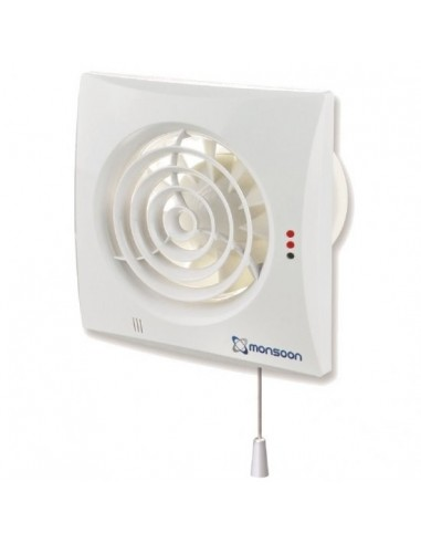 100mm (4') Extractor Fan with Pull Cord